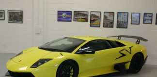 A special Lamborghini Murcielago Super Veloce is up for sale