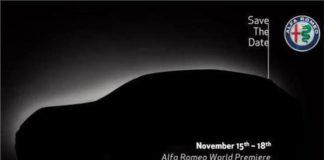 Alfa Romeo teases the Stelvio
