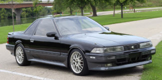 An extremely rare 1989 Toyota Soarer Aerocabin heads to auction