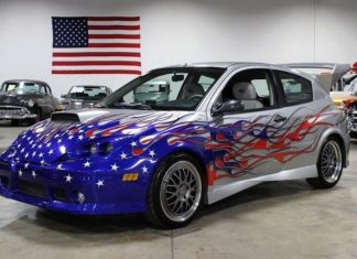 An extremely rare Ford Focus FR200 is up for sale