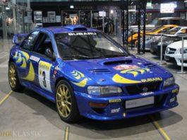 Colin McRae's Subaru Impreza WRC is up for sale