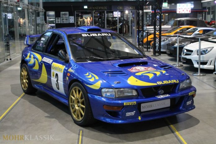 Colin McRae's Subaru Impreza WRC is up for sale