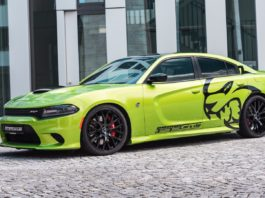 Dodge Charger Hellcat by GeigerCars