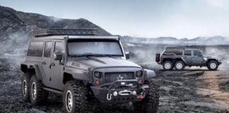 Jeep Wrangler 6X6 Tomahawk
