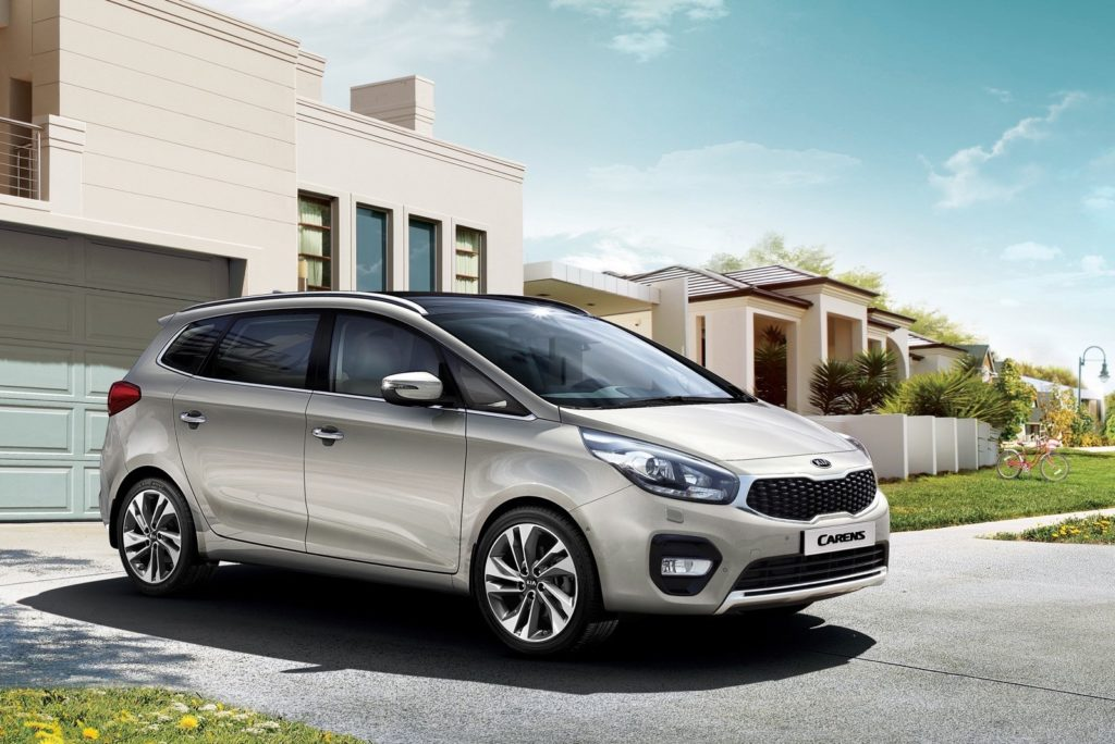 Kia Carens facelift