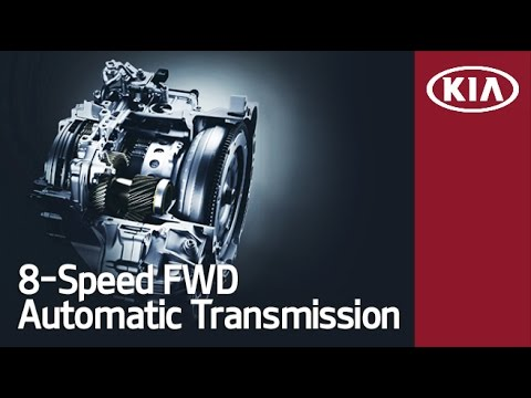 Kia presented an 8-Speed FWD Automatic Transmission