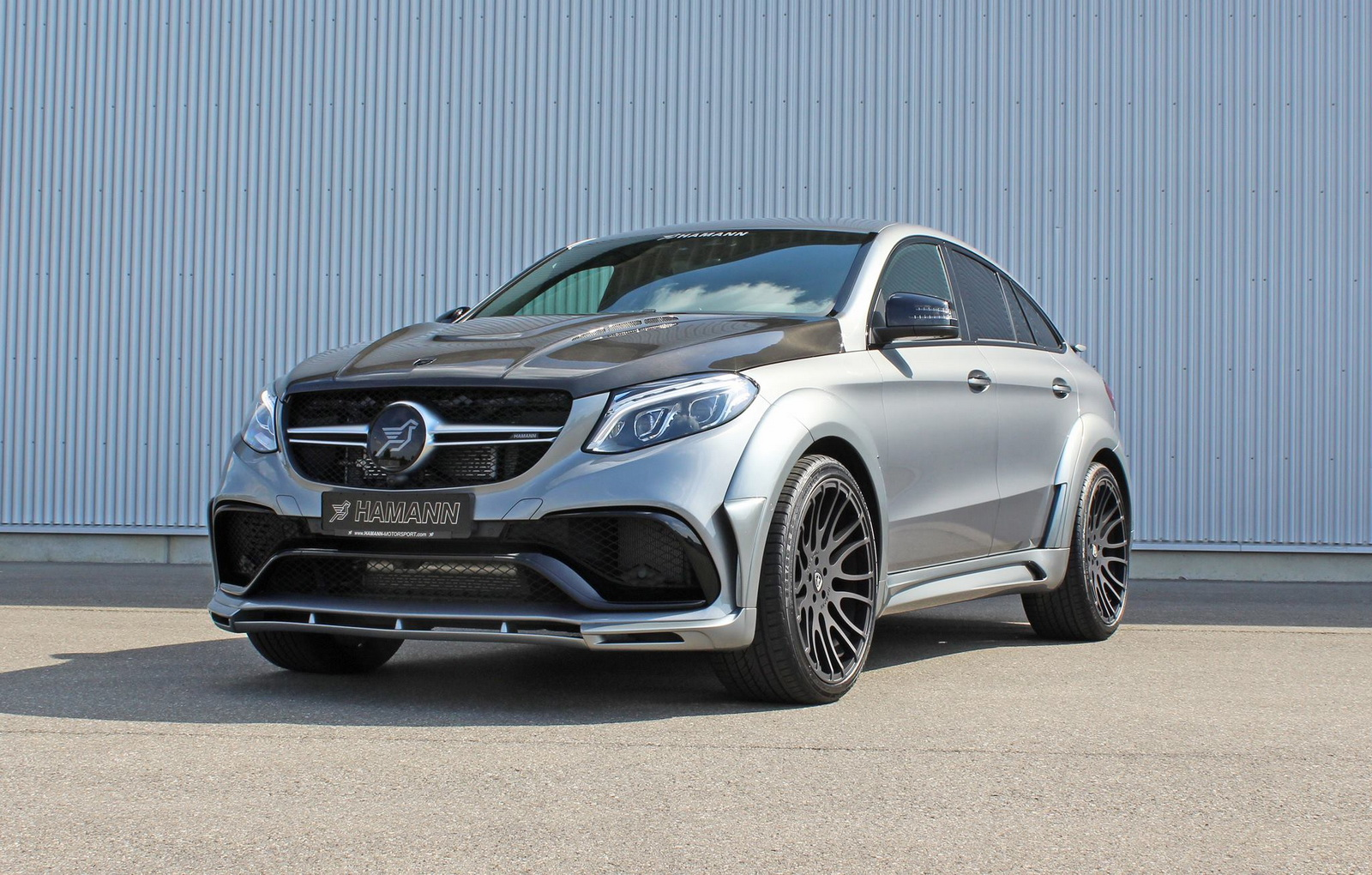 mercedes amg gle 63 coupe by hamann. Black Bedroom Furniture Sets. Home Design Ideas