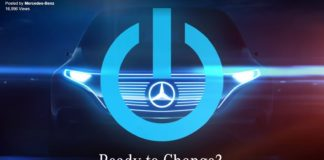 Mercedes teases its new electric SUV