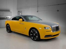 New bespoke Rolls Royce Wraith