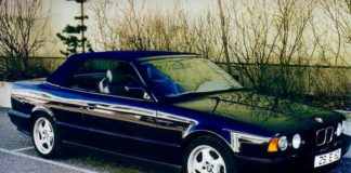 Old Concept Cars BMW M5 E34 Convertible