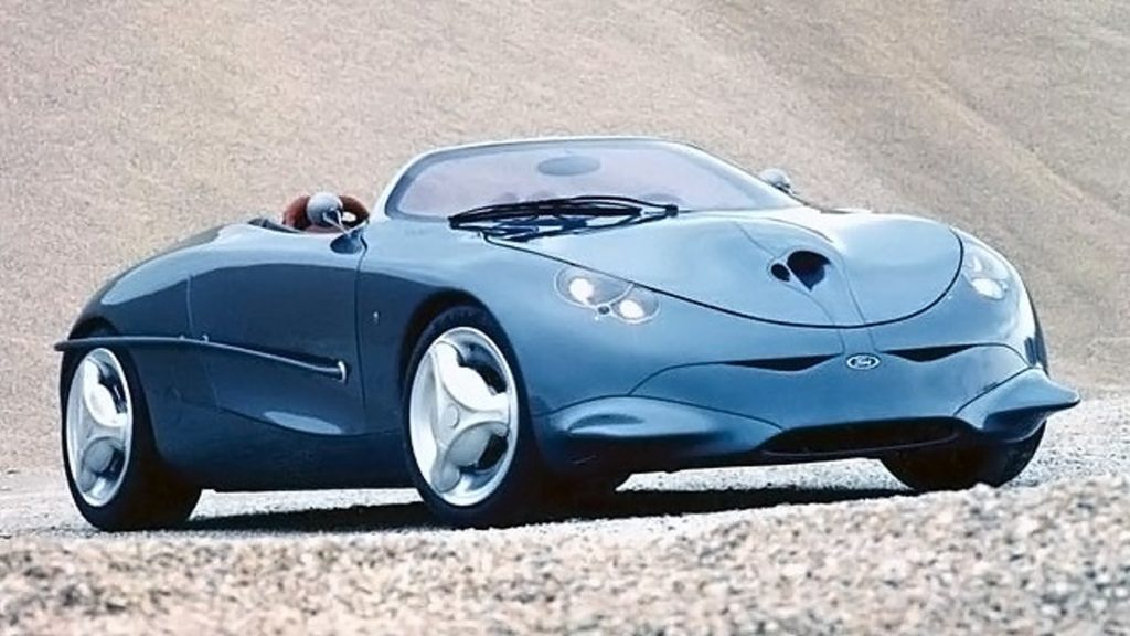 Old Concept Cars: Ford Ghia Focus concept