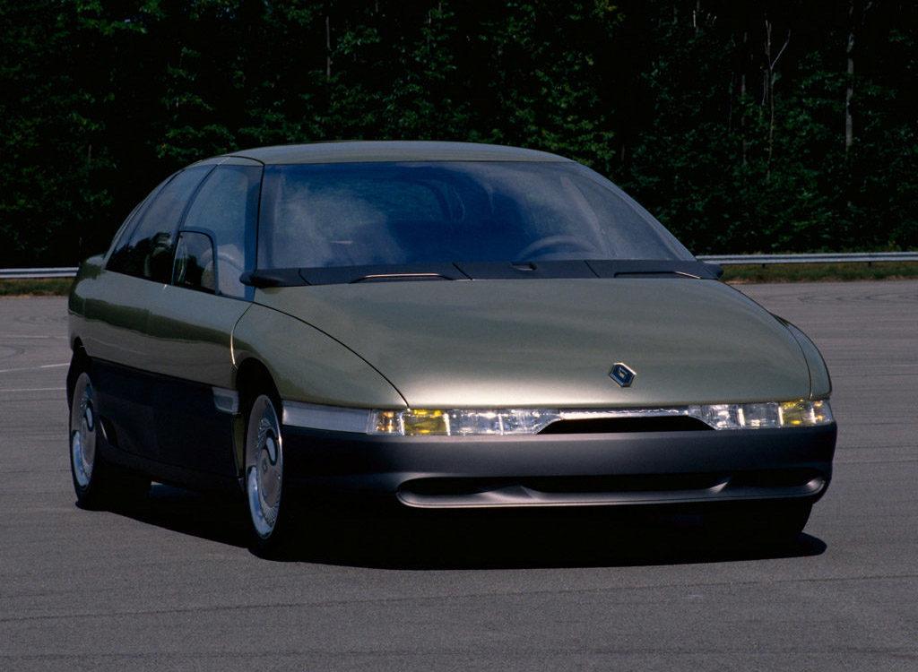 Old Concept Cars Renault Megane Concept