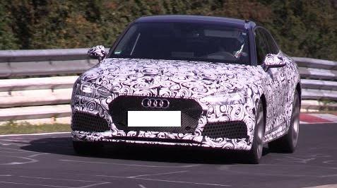 Spy Video of the Audi RS5 at Nurburgring
