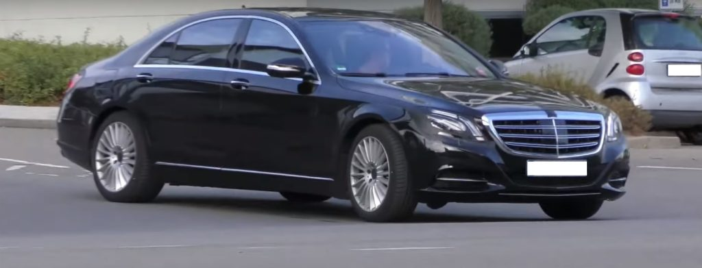 Spy Video of the Mercedes S-Class facelift