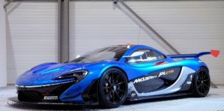 Street legal McLaren P1 GTR for sale