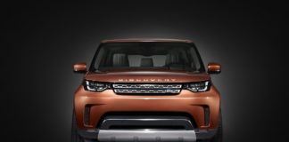 The first photos of the new Land Rover Discovery