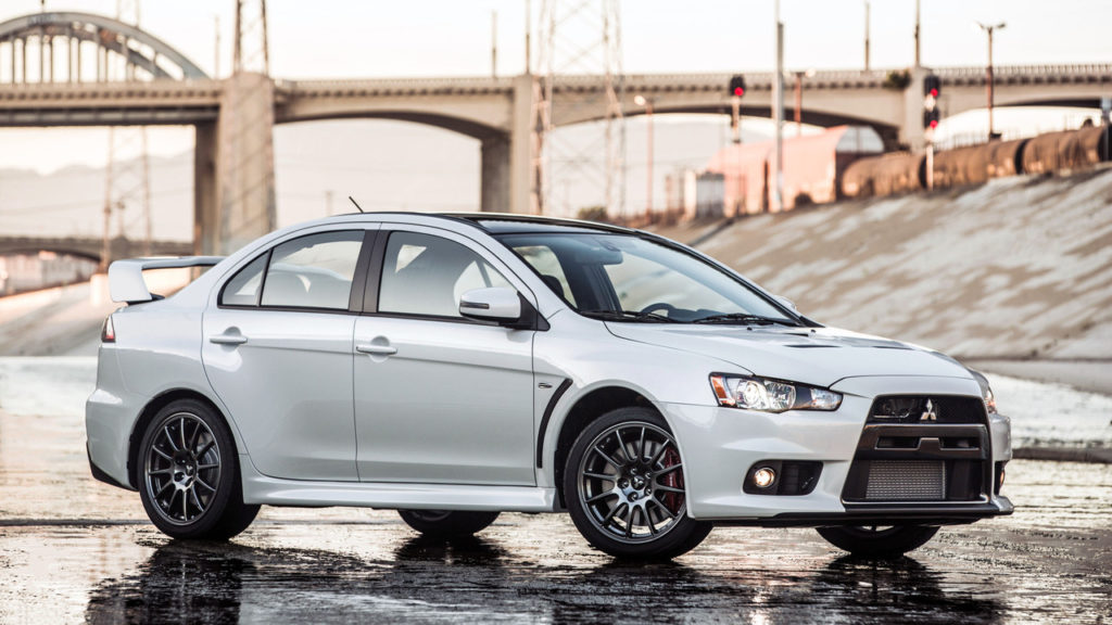 The last Mitsubishi Lancer Evolution is heading to auction