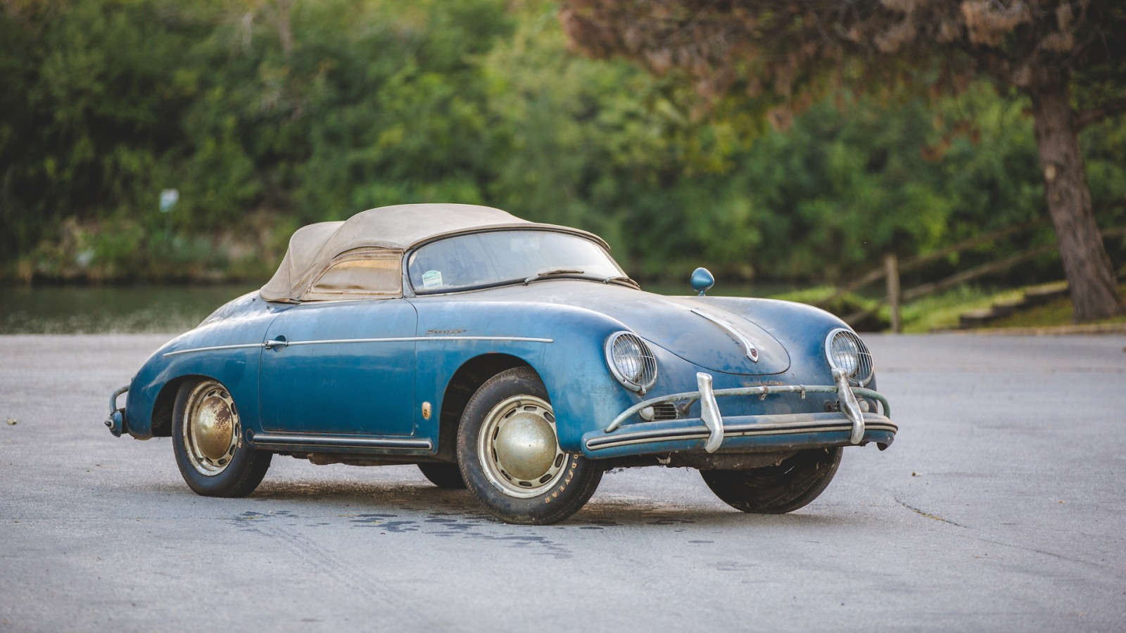 1957 Porsche 356 Speedster Heads To Auction