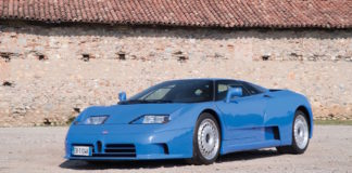 1994 Bugatti EB110 GT heading to auction