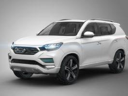 2016 Paris auto show SsangYong LIV-2 SUV Concept