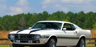 A 1970 Ford Mustang GT350 is up for auction