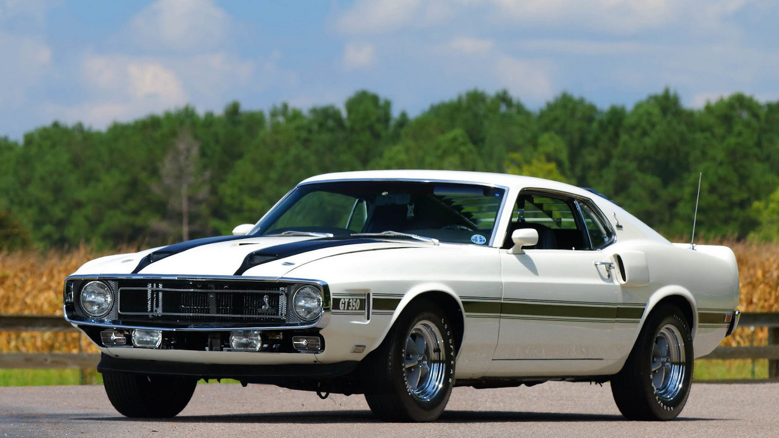 A 1970 Shelby Mustang Gt350 Is Up For Auction