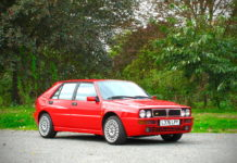 A 1993 Lancia Delta Integrale Evo II is heading to auction