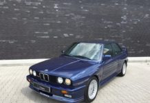A beautiful 1989 Alpina B6 3.5S is up for sale