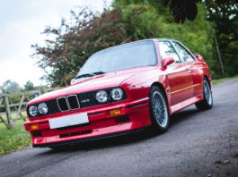 A beautiful BMW E30 M3 Sport Evolution (Evo III) is heading to auction