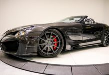 A carbon Mercedes SLR by Mansory is up for sale
