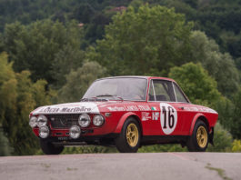 A racing 1970 Lancia Fulvia HF Fanalone is up for sale
