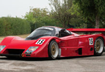A stunning Lancia LC2 heads to auction