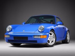 A very rare 1991 Porsche 911 Carrera RS NGT is heading to auction