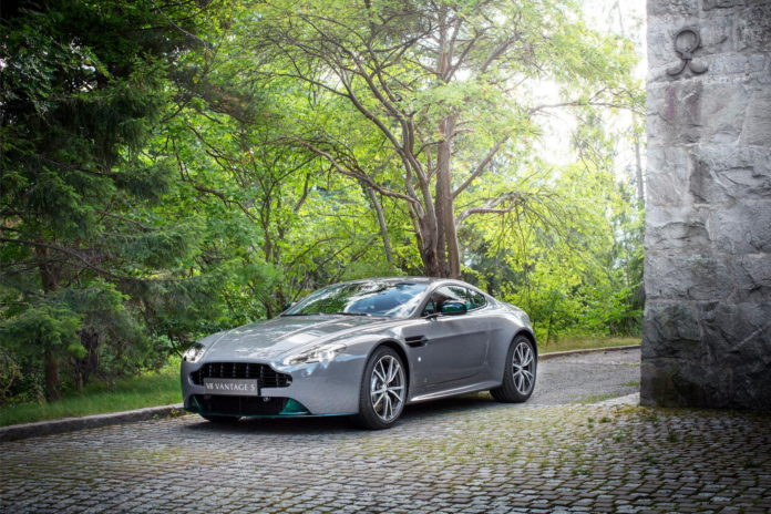Aston Martin V8 Vantage S Swedish Forest Edition