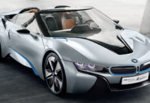 BMW will release the i8 Roadster in 2018