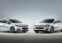 Chevrolet Malibu and Cruze RS Blue Line concepts