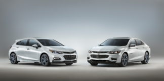 Chevrolet Malibu and Cruze RS Blue Line concepts