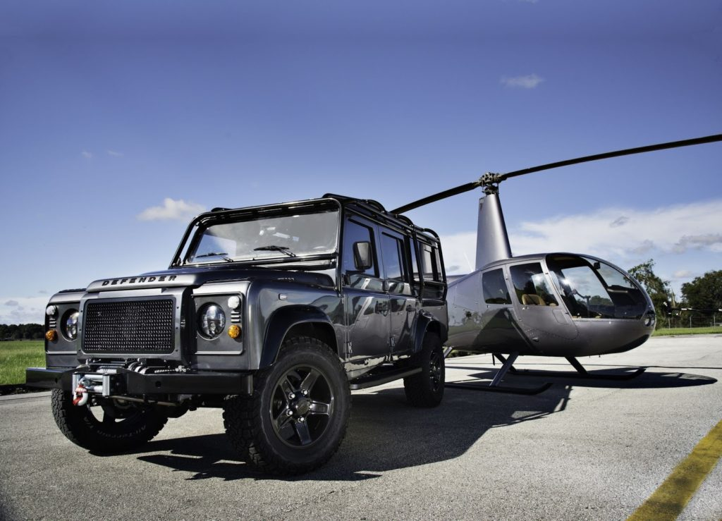 East Coast Defender with an LS3 Corvette engine