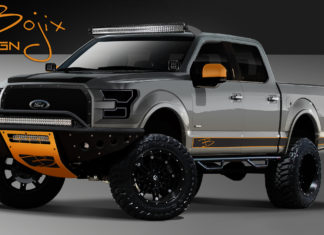 Four custom Ford F-150 heading to SEMA