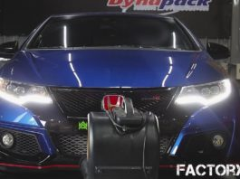 Honda Civic Type R with an Armytrix exhaust