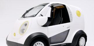Honda presented a 3D-printed electric car