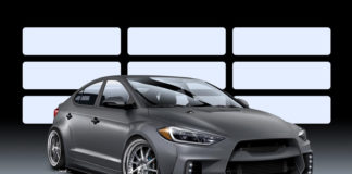 Modified Hyundai Elantra heading to SEMA