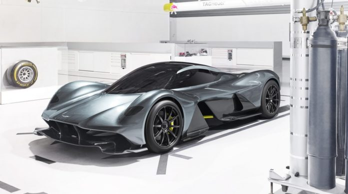 New info on the Aston Martin AM-RB 001