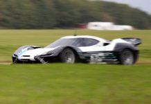 NextEV has started testing their hyper car