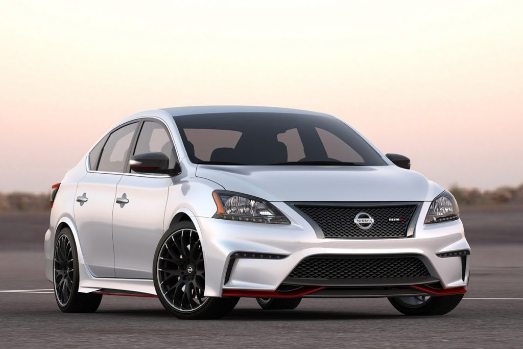 Nissan will present the Sentra Nismo at the Los Angeles auto show