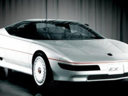 Old Concept Cars MG EX-E