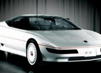 Old Concept Cars MG EX-E