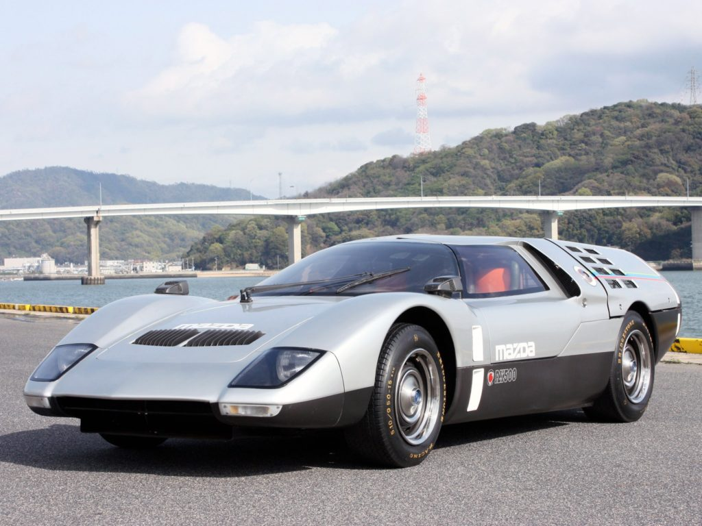 Old Concept Cars: Mazda RX-500