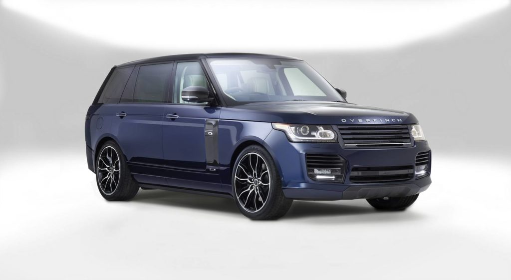 One-off Range Rover London Edition by Overfinch
