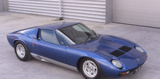 Rod Steward's Lamborghini Miura is up for sale